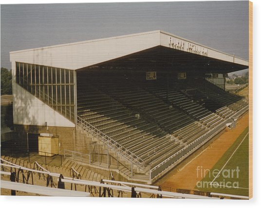 Fulham - Craven Cottage - Riverside Stand 2 - August 1986 Wood Print