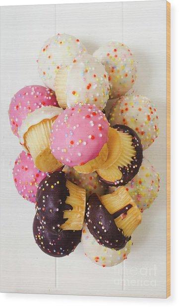 Fun Sweets Wood Print