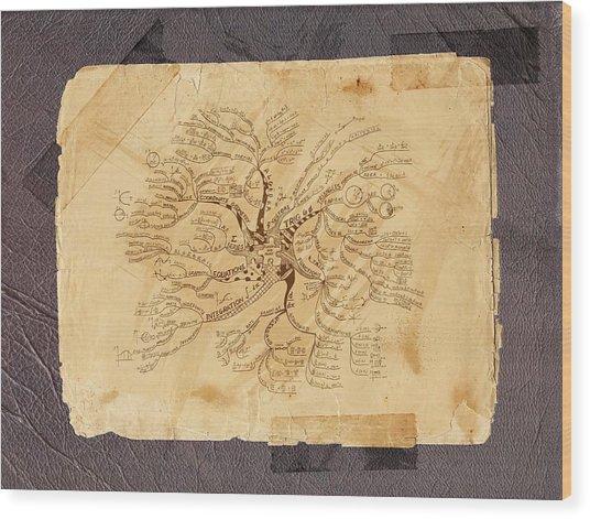 Furmulas' Tree Wood Print