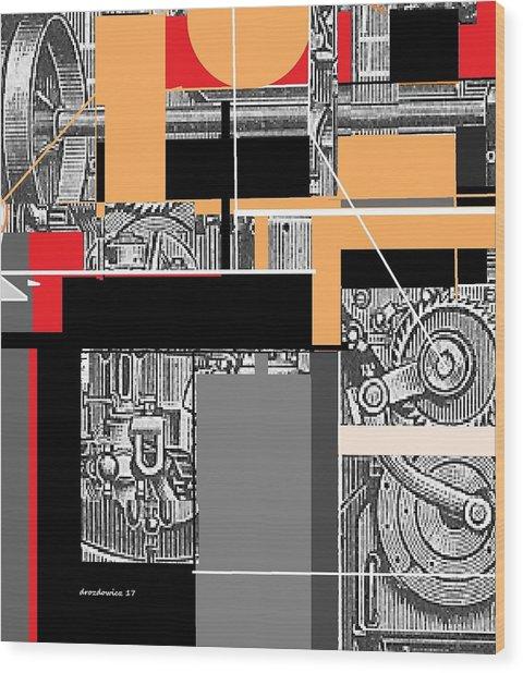 Furnace 2 Wood Print
