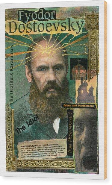 Fyodor Dostoevsky Wood Print