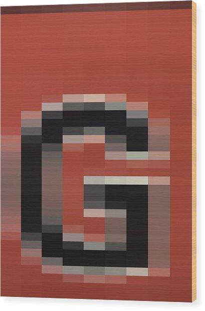 G - Context Series - Limited Run Wood Print by Lars B Amble
