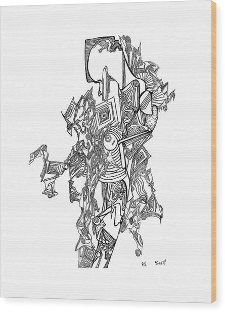 Gaia Wood Print