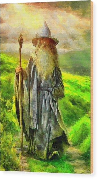 Gandalf, The  Grey Wood Print