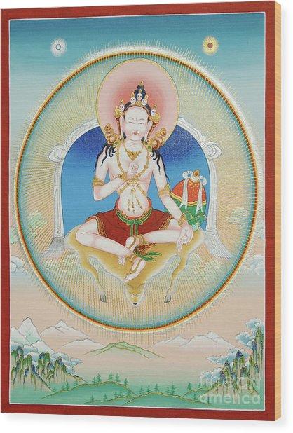 Garab Dorje Wood Print
