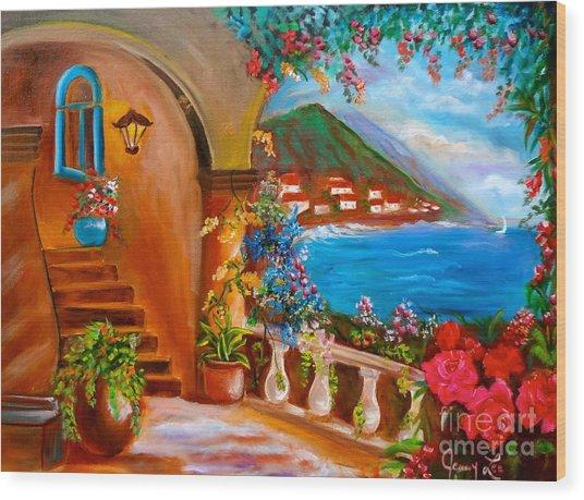 Garden Veranda 1 Jenny Lee Discount Wood Print