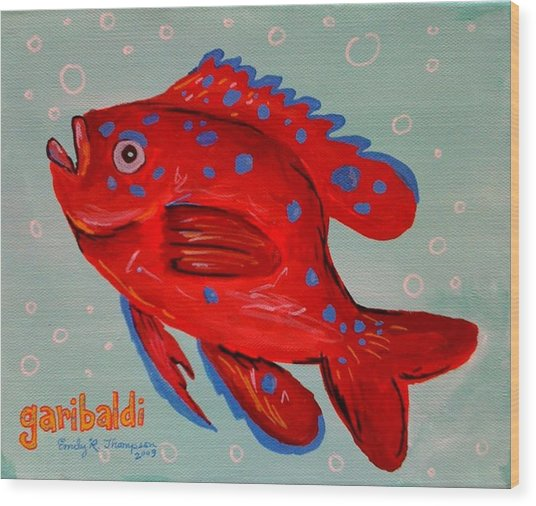 Garibaldi Wood Print by Emily Reynolds Thompson