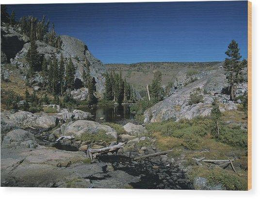 Garnet Lake Outlet Stream Wood Print