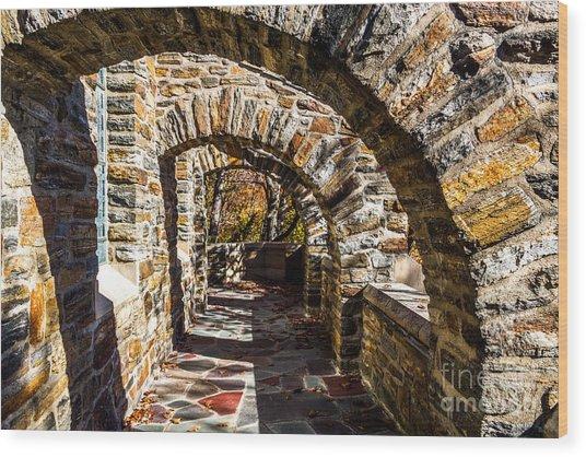 Garrett Chapel Balcony Wood Print