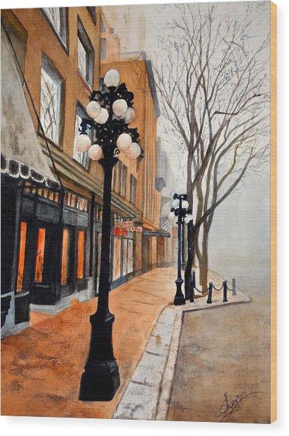 Gastown, Vancouver Wood Print