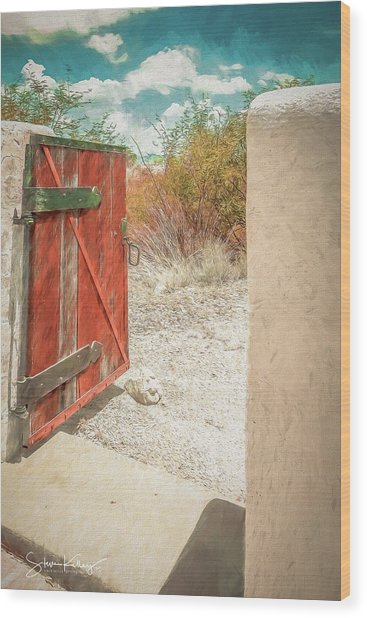 Gate To Oracle Wood Print