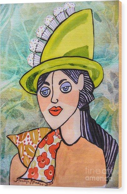 Gateau Chapeau Wood Print