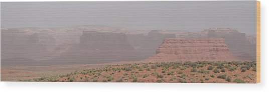 Gateway To Valley Of The Gods Wood Print by Gregory Jeffries