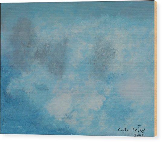 Gathering Storm Wood Print by Harris Gulko