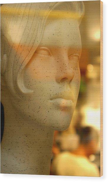 Gemima 2 Wood Print by Jez C Self