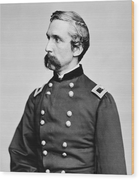 General Joshua Chamberlain  Wood Print
