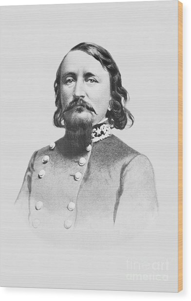 General Pickett - Csa Wood Print