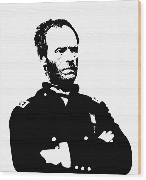 General Sherman Wood Print