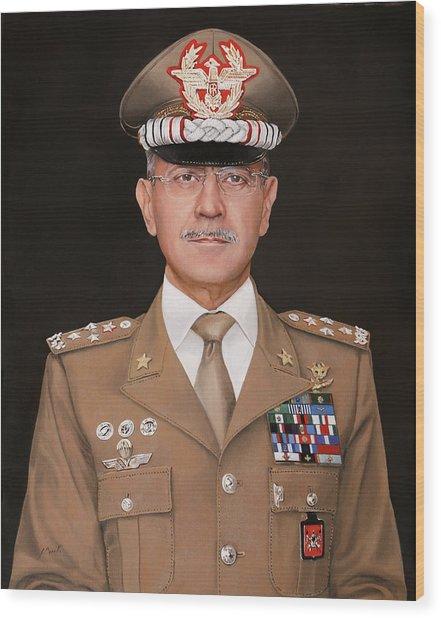 Generale Danilo Errico Wood Print