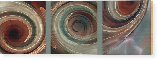 Genesis Triptychon Wood Print