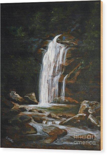 Genesis Wood Print by Suzanne McKee