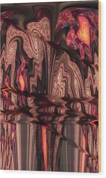 Geodes Wood Print