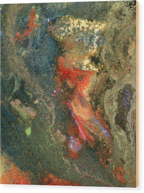 Geology-volcanic Wood Print