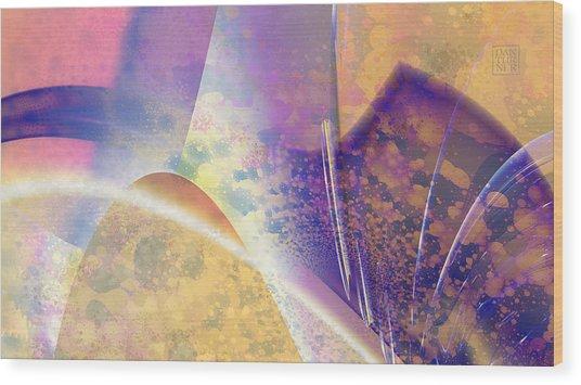 Geomorphic Wood Print by Dan Turner