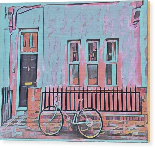 Georgetown Cycle Wood Print