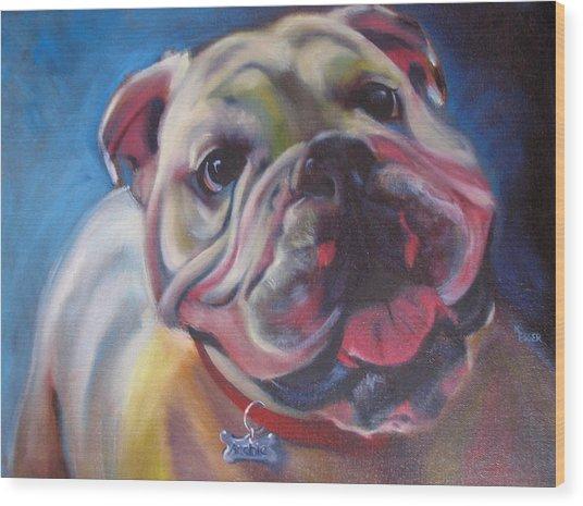 Georgia Bulldog Wood Print