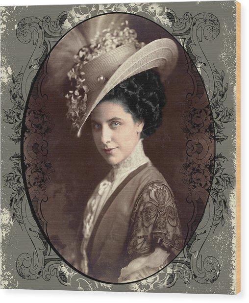 Geraldine Farrar Wood Print