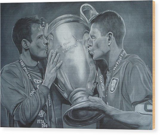 Gerard An Carragher Wood Print