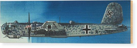 German Aircraft Of World War  Two Focke Wulf Condor Bomber Wood Print