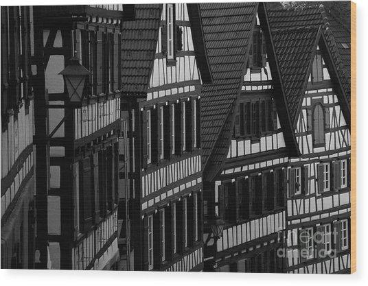 Germany- Wood Print