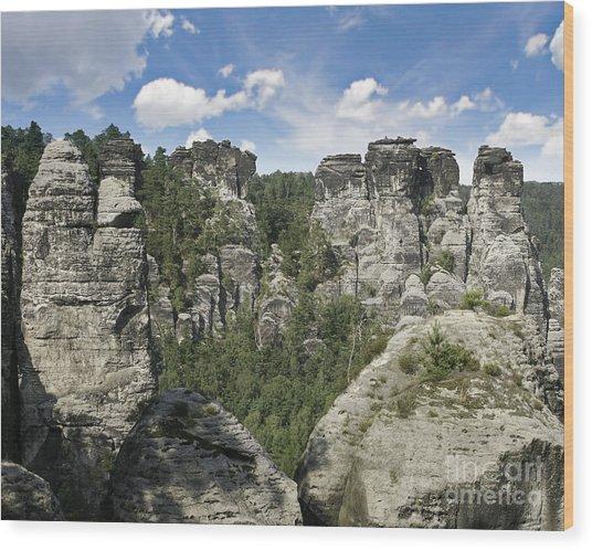 Germany Landscape Wood Print