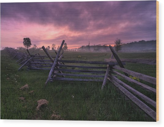 Gettysburg Mornings... Wood Print