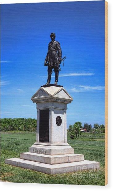 Gettysburg National Park Abner Doubleday Memorial Wood Print