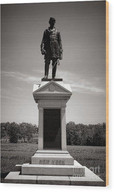 Gettysburg National Park Abner Doubleday Monument Wood Print