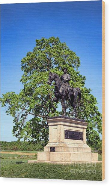 Gettysburg National Park John Fulton Reynolds Memorial Wood Print