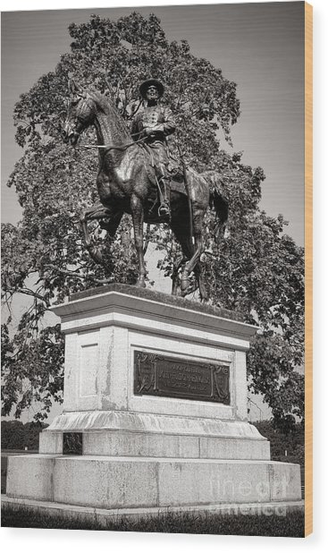 Gettysburg National Park John Fulton Reynolds Monument Wood Print