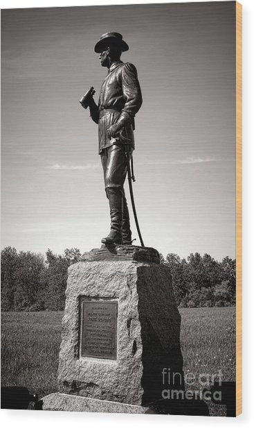 Gettysburg National Park Major General John Buford Monument Wood Print