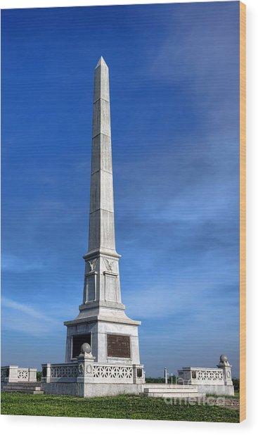 Gettysburg National Park United States Army Regulars Memorial Wood Print