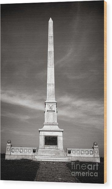 Gettysburg National Park United States Army Regulars Monument Wood Print