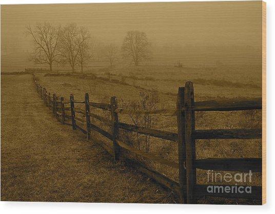 Gettysburg Wood Print