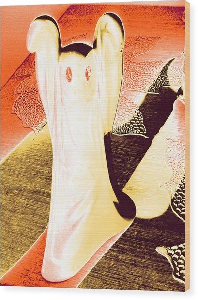 Ghost #1 Wood Print