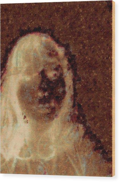 Ghost Girl Wood Print