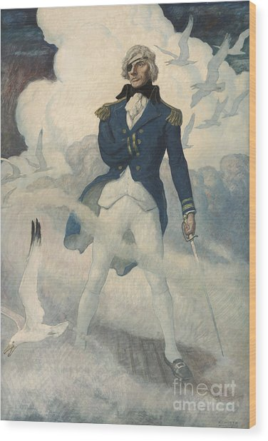 Ghost Of Admiral Nelson Wood Print