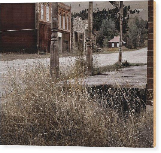 Ghost Town 2 Wood Print