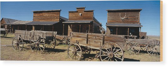 Ghost Town, Cody, Wyoming Wood Print