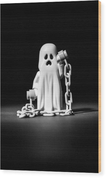 Ghostly Wood Print